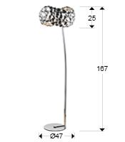 medida lampara de pie narisa schuller