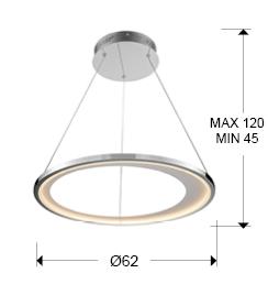 lampara colgante laris schuller 281275