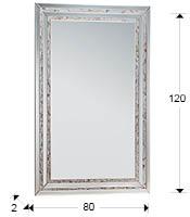 medidas espejo nácar schuller 287506