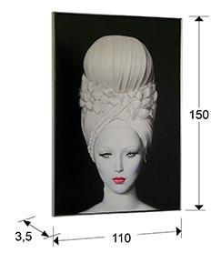 Lienzo impreso Vesta 110x150