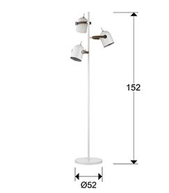 pie salon Adame Schuller 3L. 346246 medidas