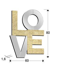 medidas espejo Love Schuller 490633