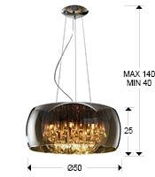medidas lampara argos schuller 508111