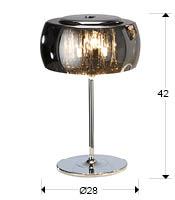 medidas sobremesa argos schuller 508516