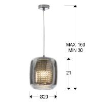 medida colgante schuller aqua 654401