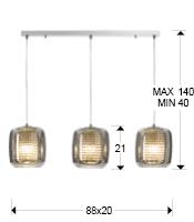 medida lampara aqua schuller 654522