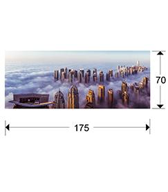 cuadro Rascacielos Schuller 729040 medidas