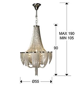 medidas lámpara Minerva Schuller 872853