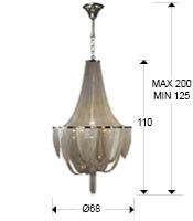 medidas lámpara Minerva SChuller. 872941