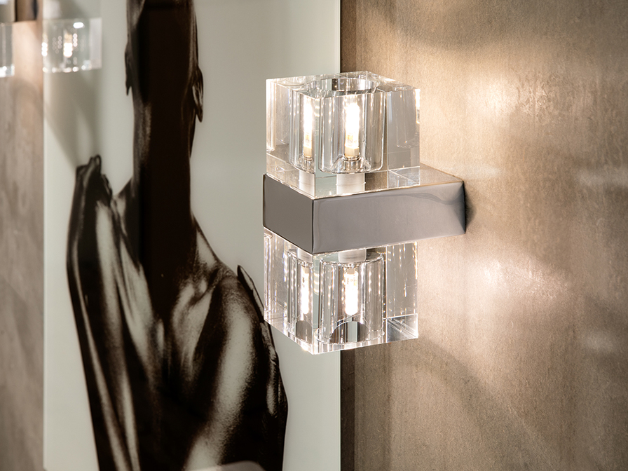 Schuller Lighting Wall lamps Cubic 571034G9  ·CUBIC· WALL LAMP, 2L. G9